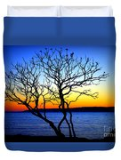 Last To Leave Duvet Cover