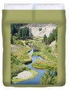 Latah Creek Duvet Cover