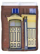 Late 1800s Door Duvet Cover