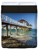Late Afternoon At Kamalame Cay Duvet Cover