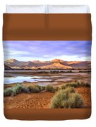 Late Afternoon Rain Duvet Cover