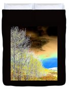 Late Autumn Duvet Cover by Will Borden