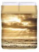 Late Day Rays Duvet Cover