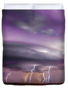 Late July Storm Chasing 086 Duvet Cover