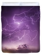 Late July Storm Chasing 088 Duvet Cover
