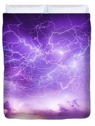 Late July Storm Chasing 089 Duvet Cover
