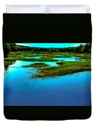 Late May On The Moose River Duvet Cover