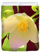 Late Spring Flower Duvet Cover