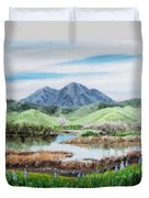 Late Winter In California Duvet Cover