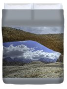 Lathe Arch Between Storms Duvet Cover