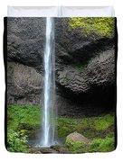 Latourell Falls, Oregon Duvet Cover