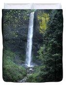Latourelle Falls-columbia River Gorge Duvet Cover