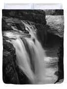 Laugafell Mountain Lodge Waterfalls Iceland 3146 Duvet Cover