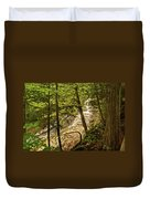 Laughing Whitefish Falls 2 Duvet Cover by Michael Peychich