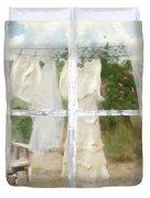 Laundry Day Duvet Cover