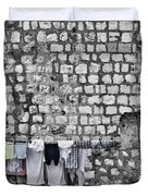 Laundry Line - Dubrovnik Croatia #3 Duvet Cover