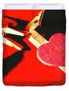 Laundry Love Duvet Cover