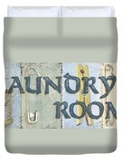 Laundry Room  Duvet Cover by Debbie DeWitt