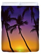 Launiupoko Sunset Duvet Cover