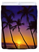 Launiupoko Sunset Duvet Cover