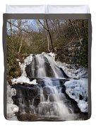 Laurel Falls In Gatlinburg Tennessee Duvet Cover