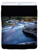 Laurel Flat, Nc - Waterfall Duvet Cover