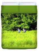 Laurel Hill Park Road Duvet Cover