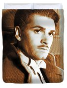 Laurence Olivier, Movie Legend Duvet Cover