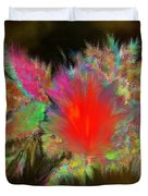 Lava Explosion Duvet Cover