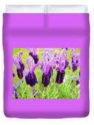 Lavender Abstract Duvet Cover