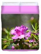 Lavender Rhododendrun Duvet Cover