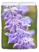 Lavender Blooms Duvet Cover