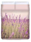 Lavender Blossom Duvet Cover