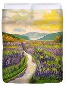 Lavender Brook Duvet Cover