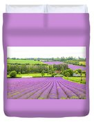 Lavender Farms In Sevenoaks Duvet Cover