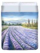 Lavender Field Duvet Cover