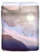 Lavender Night Duvet Cover