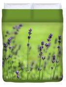 Lavender Spikes  Duvet Cover