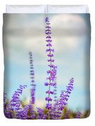 Lavender To The Sky Duvet Cover