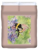 Lavender Visitor Duvet Cover