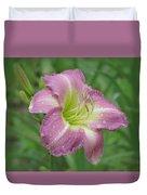 Lavender Vista - Daylily Duvet Cover