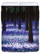 Lavender Woodland Duvet Cover