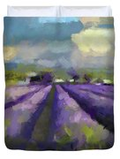 Lavenders Of South Duvet Cover