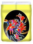 Lavish Lilies 2 Duvet Cover