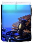 Medical Law Duvet Cover