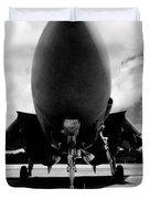 Lawn Dart F 14 Tomcat Duvet Cover