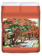 Lawson Avenue Flamboyants Duvet Cover