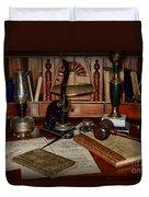 Lawyer - A Lawyers Desk Duvet Cover