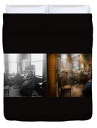 Lawyer - Always Taking Notes - 1902 - Side By Side Duvet Cover