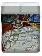 Lawyer - The Tax Attorney Duvet Cover